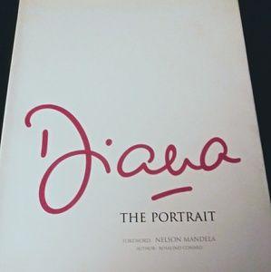 Portrait of Princess Diana book